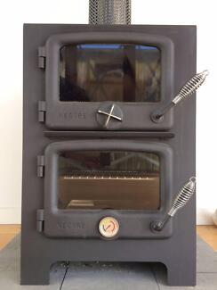 Nectre Baker's Oven - brilliant combination of heater & stove