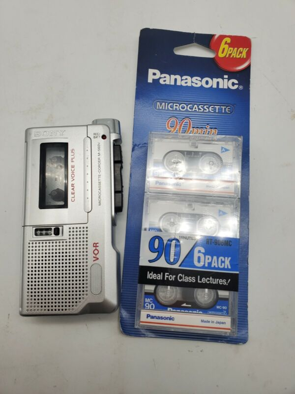 Sony M-560V Clear Voice Plus VOR & TAPES