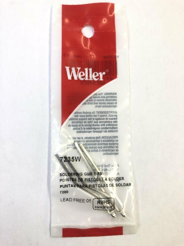 Weller 7235 Soldering Gun Tips for 7200 Pack of 2