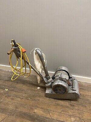 Essex Silver Line Sl8 Wood Floor 8 Drum Sander Machine Sl-8 Hook And Loop