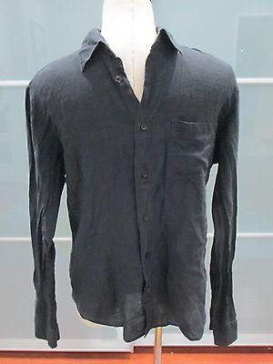 Versus Gianni Versace Long Sleeve Button Down Semi-Sheer Shirt Size 38 / 52
