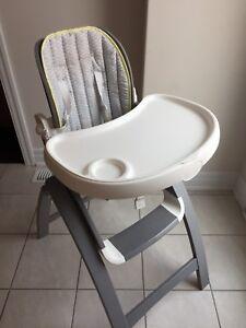 Summer Infant Bentwood High Chair (grey)