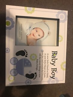 Baby boy picture frame new