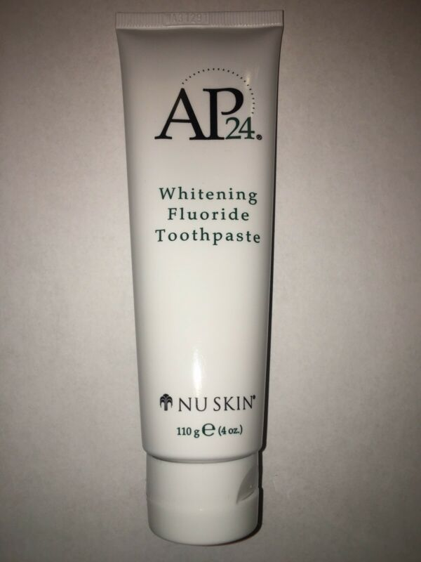 Nuskin Nu Skin Ap-24  Whitening Fluoride Toothpaste 4oz Exp 2021 AUTHENTIC