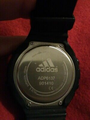 Adidas Men Digital Watch (needs battery) ADP6137 901410 Water Resistant