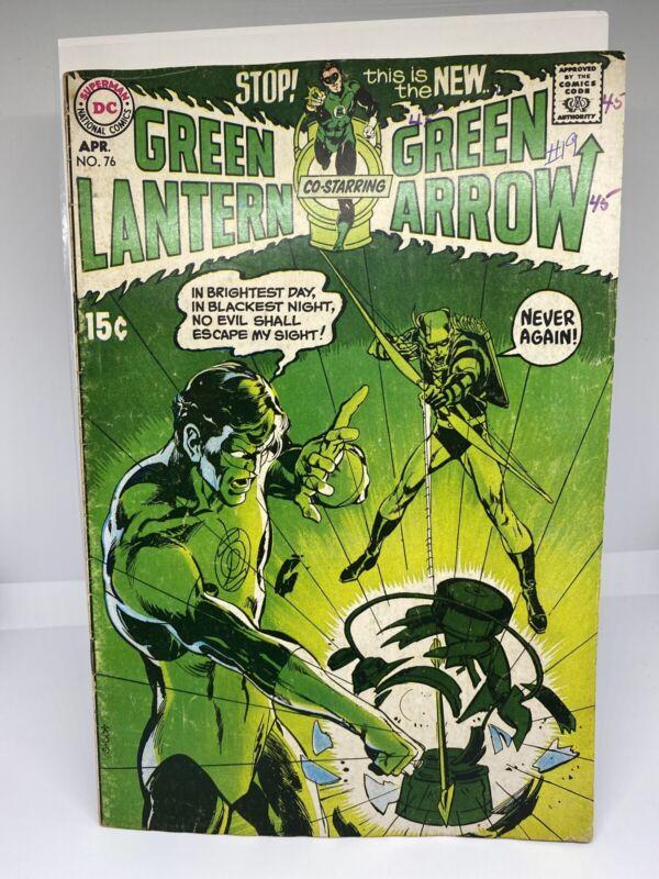 Green Lantern #76 [1970, DC] Neil Adam