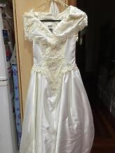 Wedding dress with hoop Magill Campbelltown Area Preview