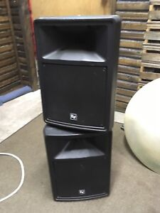 EV Sx80 compact pa speakers (pair)