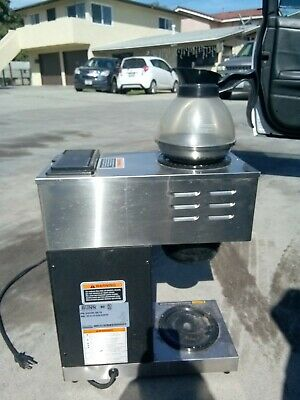 Bunn Vpr 12 Cup Commercial Coffee Maker Pour Over Brewer Warmer Machine As It Is