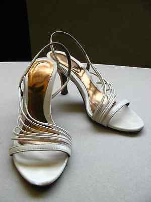 White sandals.