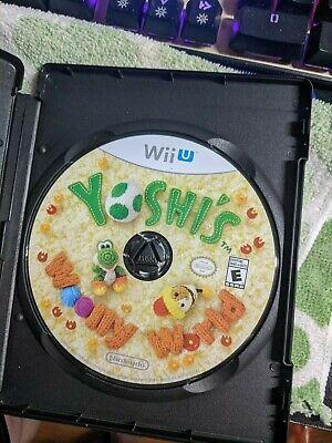 Yoshi's Woolly World  (Nintendo Wii U) Disc Only Same Day Ship