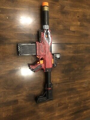 Nerf Stryfe Borderlands Inspired Custom Paintjob With Extra Attachments