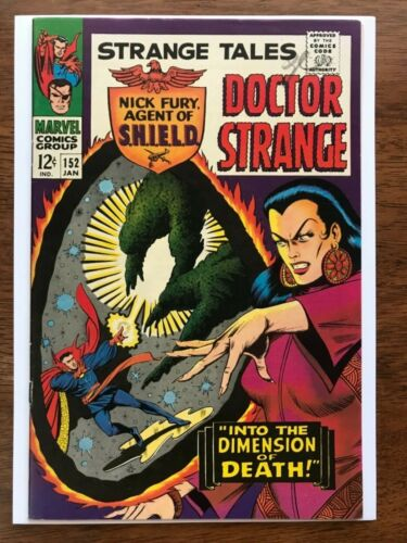 Strange Tales # 152 NM 9.4 White Pages ! Perfect Spine ! Sleek ! Glossy Bright !