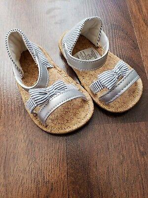 Girls Infant Sandals Size 3-6 Months
