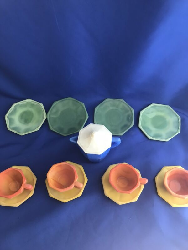 akro agate childrens dishes