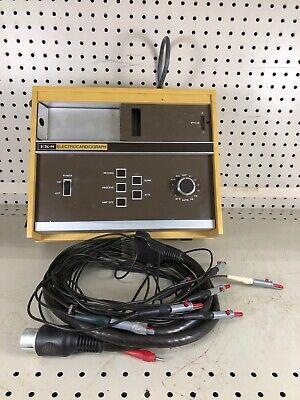 Vintage Burdick Ek-8 Electrocardiograph Ecg Ekg Machine