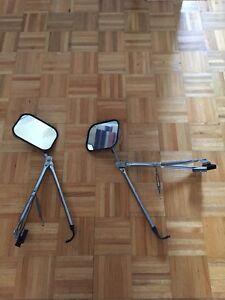 Miroirs/rétroviseurs extension roulotte/VR/camion