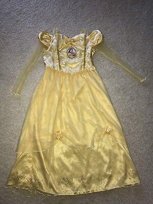 Disney Store Princess Belle Beauty and the Beast Nightgown Pajamas Girls 9 10 Disney Store Girls Pajamas