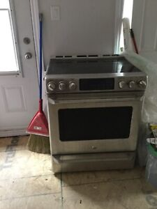 GE Cafe Electric Stove stainless steel