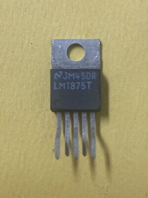 New  Lm1875t 20w Mono Audio Power Amplifier 5 Pin To-220 Amp Hifi Ic