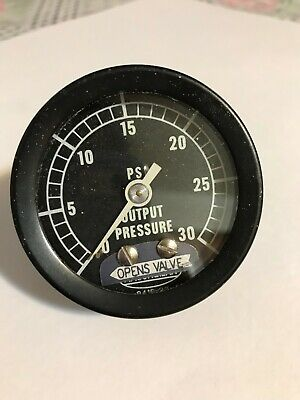 Masoneilan Pressure Gauge 0-30 Psi Output Pressure Opens Valve