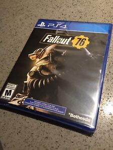 Fallout 76 for Sony PS4 PlayStation- Brand New Sealed