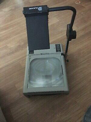 Dukane 653 Portable Photographic Overhead Projector 28a653 Vintage Steam Punk