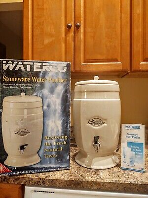 Waterco Stoneware Gravity Water Drinking Purifier 8 litre Home Office