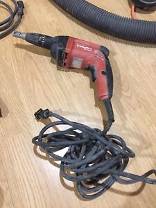 Perceuse a gypse hilti