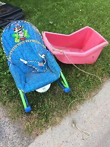 Free rocker and sled