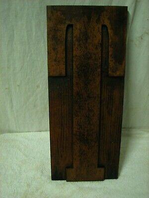 Vintage Huge 15 Wood Letterpress Block Print Type Letter T