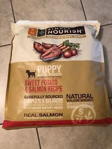 Simply Nourish puppy food sweet potato and salmon