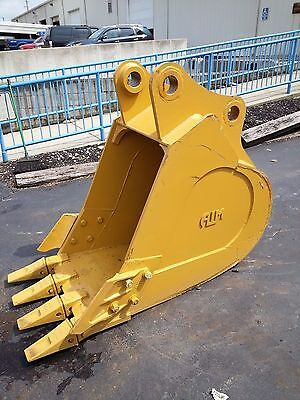 New 30 Heavy Duty Excavator Bucket For A Caterpillar 320 With Coupler Pins