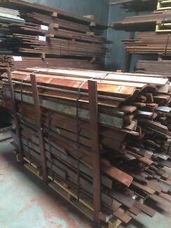 82mm x 18mm jarrah internal hardwood flooring floorboards