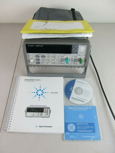 Agilent 53132A 225 MHz 2 Channel Universal Counter w/ OPT 010 HS Oven, Tested