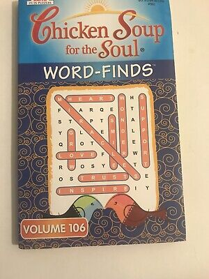 Chicken Soup for the Soul Word Finds Puzzle Book Volume 106 -Word Search NEW