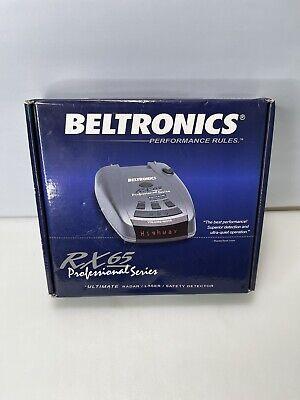 Beltronics RX65-Red Radarwarner der Professional-Serie KOSTENLOSER VERSAND
