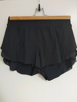 Lululemon Black Gym Running Shorts Size 6