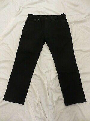 LEVIS 541 Mens BLACK Jeans 36 x 30  #0031