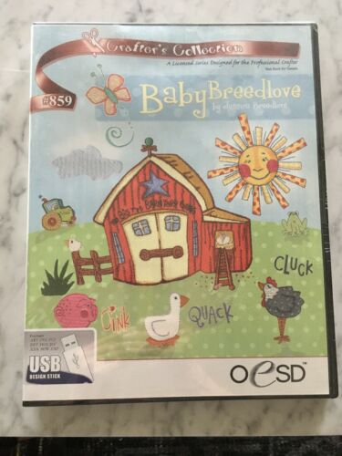 OESD Crafters Collection Baby Breedlove #859