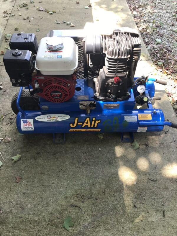 J Air Portable Air Compressor with Honda GX160 motor  J113H5-9r