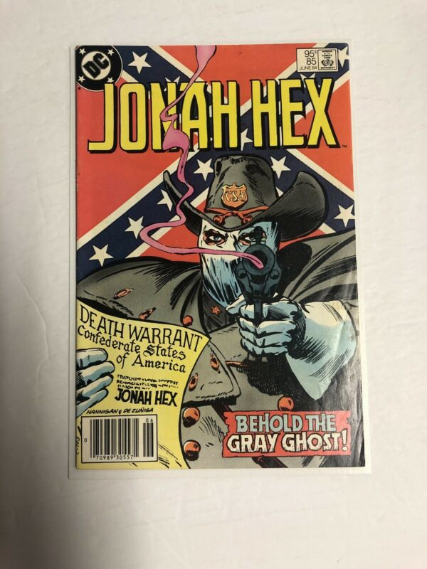 Jonah Hex (1984) # 85 (Fine) | Canadian price Variant (CPV)
