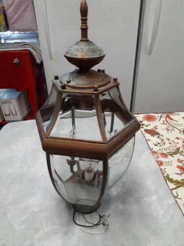 Vintage Post-Top Light Fixture