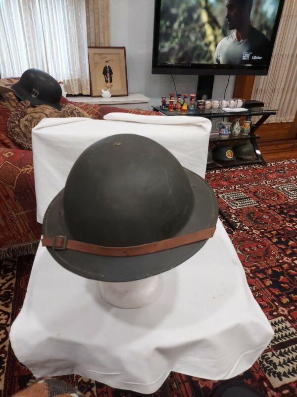 WW 1 U.S. M1917 Brodie Combat Helmet orginal