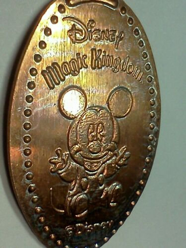 DISNEY WORLD MAGIC KINGDOM BABY MICKEY MOUSE-Elongated / Pressed Penny J-808