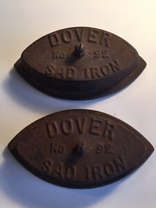 "Antique ""Sad Irons"""