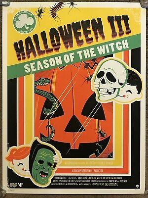 John Carpenter Halloween 3 Season Of The Witch Dave Perillo Print Poster Mondo