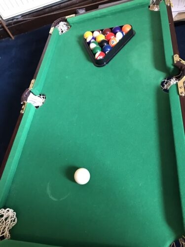 Cool games for men Tabletop Pool Table Minature **no Cues**