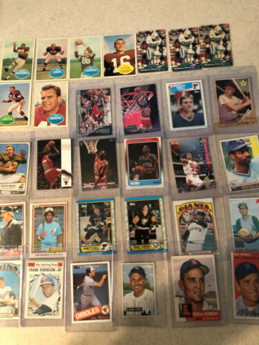 LOT OF 200+ COLLECTIBLES POSTCARDS, SPORTS CARDS, COINS, PATCHES, EPHEMERA, MORE