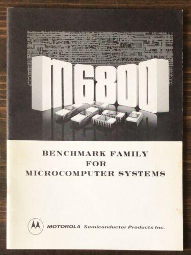 Motorola 6800 Benchmark Family For Microcomputer Systems Seminar Handout 1975